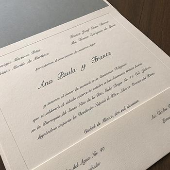 INVITACIÓN DE BODA CLÁSICA 001