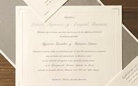 INVITACIÓN PARA BODA CLÁSICA MODELO – 011